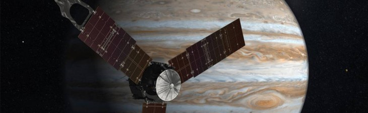 Koncepcja artystyczna sondy Juno.
