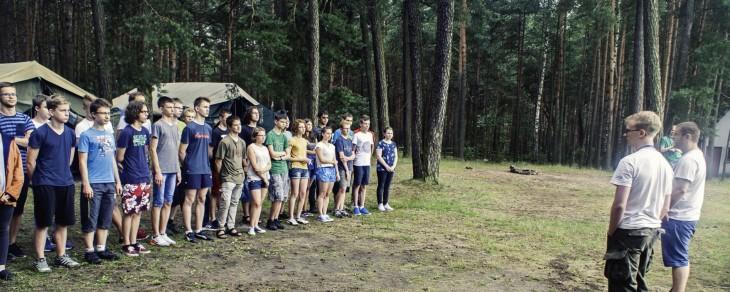 Relacja z obozu dla gimnazjalistów w Załęczu Wielkim