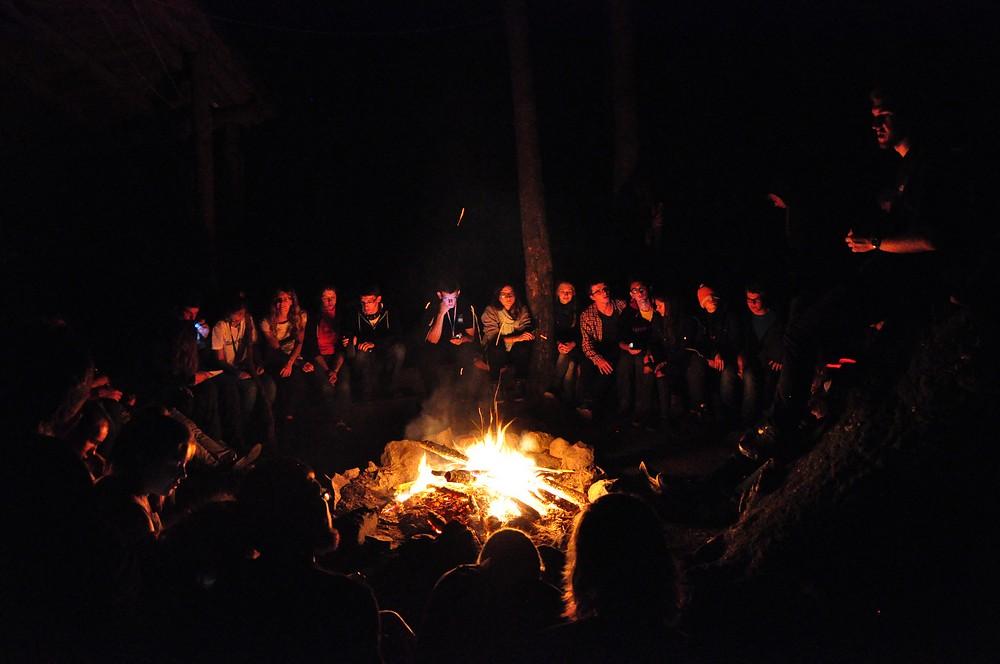 Tradycyjne ognisko.