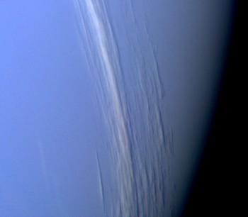 Chmury spowijające Neptuna