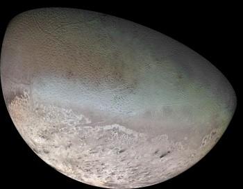 Tryton- największy naturalny satelita Neptuna
