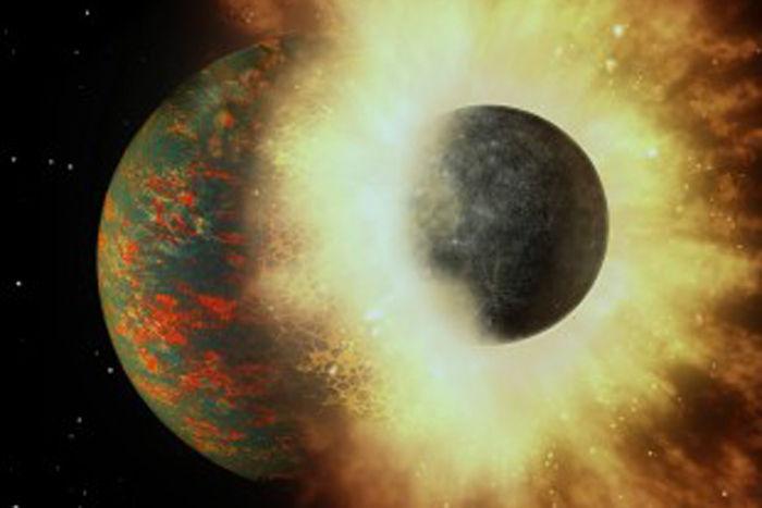 Nowe badania stosunków i pochodzenia pierwiastków występujących na Ziemi sugerują, że węgiel może pochodzić z kolizji  z planetą podobną do Merkurego, do której miałoby dojść 4,4 mld lat temu.