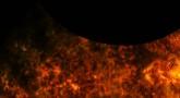 Podwójne zaćmienie Słońca widziane przez sondę SDO.