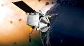 Wizja artystyczna sondy OSIRIS-REx