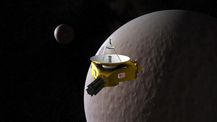 Wizualizacja sondy New Horizons