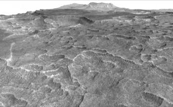 Zdjęcie przedstawiające równinę Utopia Planitia.