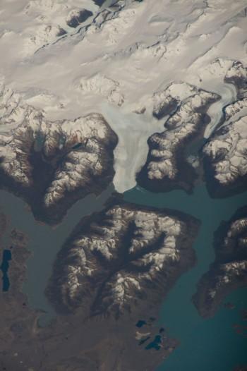 Lodowiec Perito Moreno w Patagonii.
