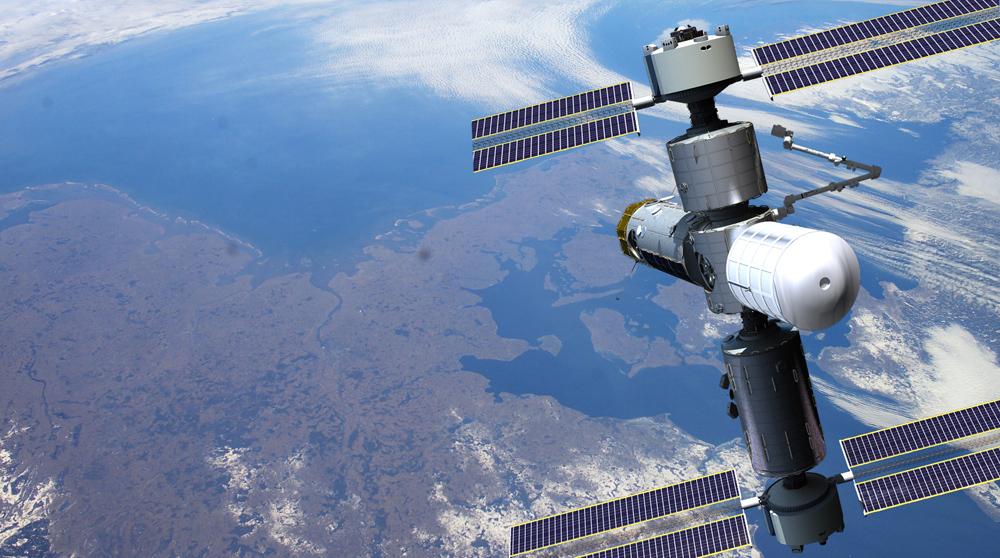 Po przejściu naemeryturę ISS, moduł Axiom zostanie połączony zapomocą dodatkowych elementów, które funkcjonują jako Międzynarodowa Stacja Kosmiczna Axiom.