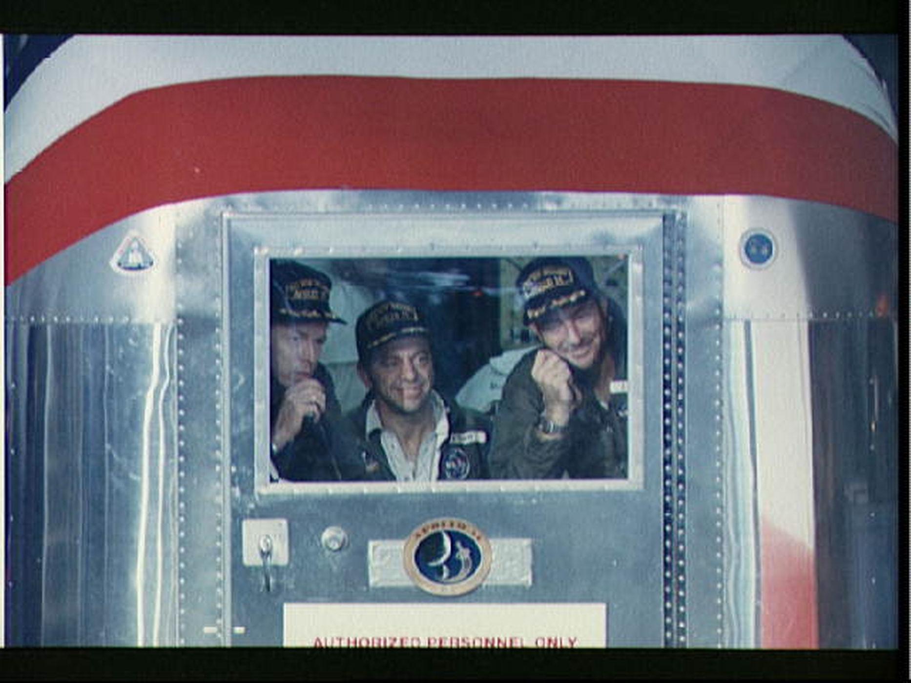 Astronauci z misji Apollo 14 jako ostatni zostali poddani kwarantannie.