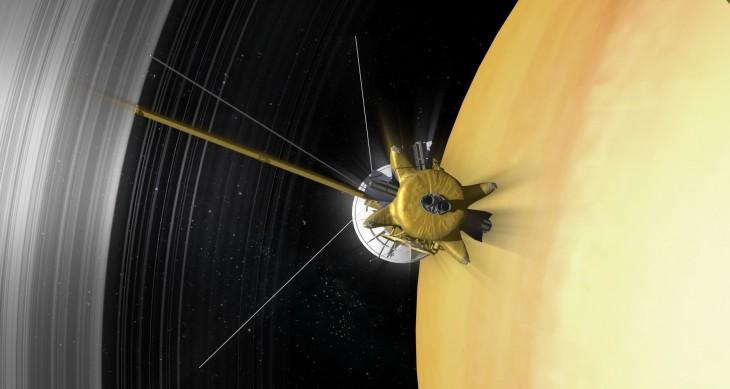 Cassini u kresu podróży