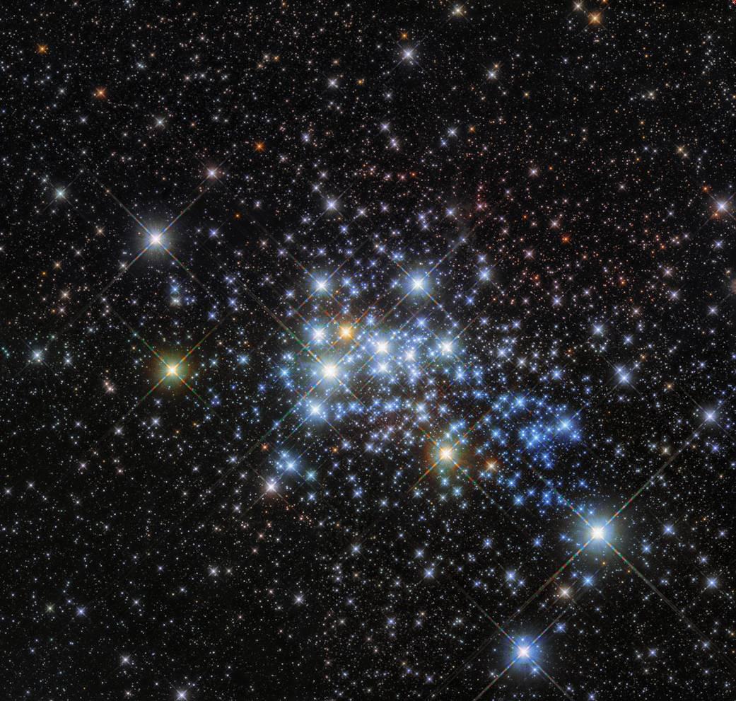 Gromada Westerlund 1 to skupisko olbrzymich gwiazd