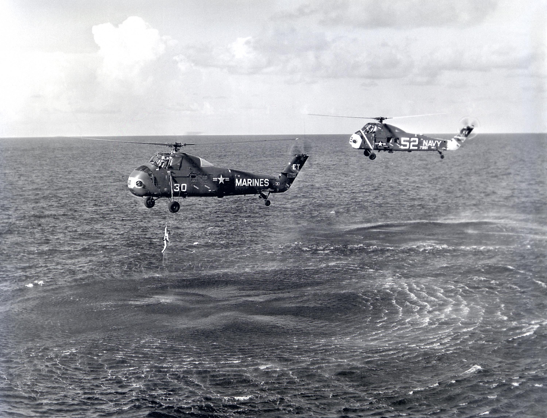 Akcja ratunkowa po zakończonej misji Mercury 4.