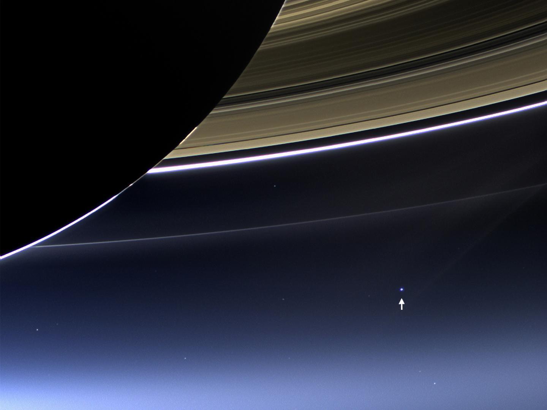 Ziemia z okolic Saturna, 19.07.2013