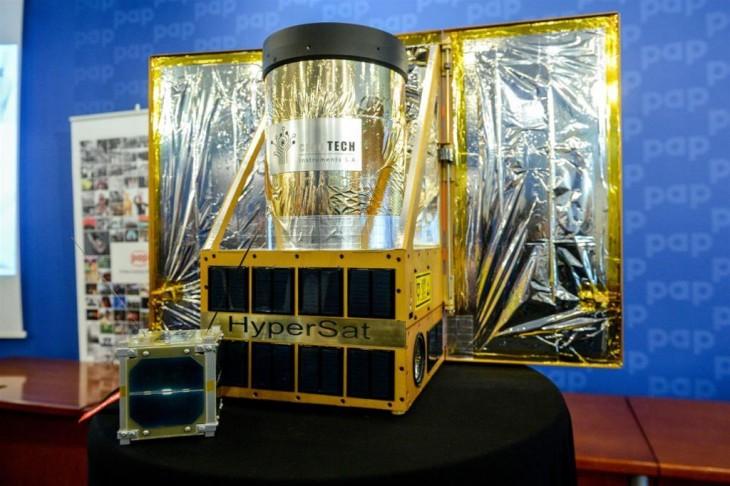 Trwają prace nad platformą satelitarną – HyperSat
