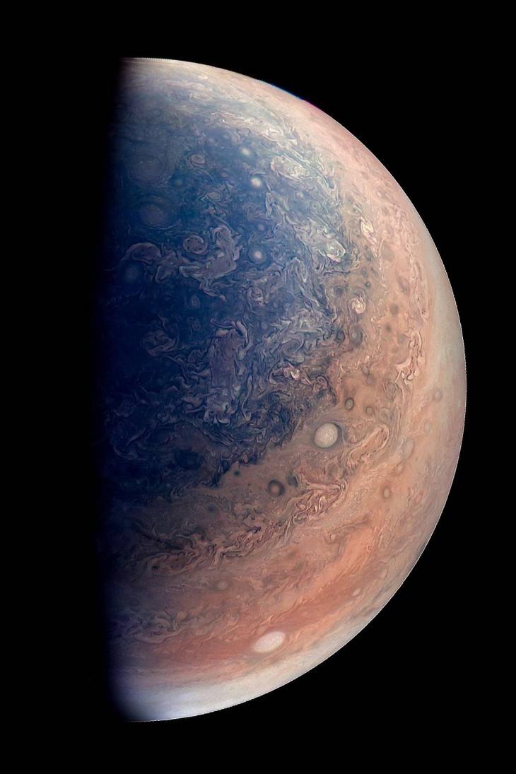 Zdjęcie Jowisza obrobione przez astronoma amatora - Gabriela Fiseta