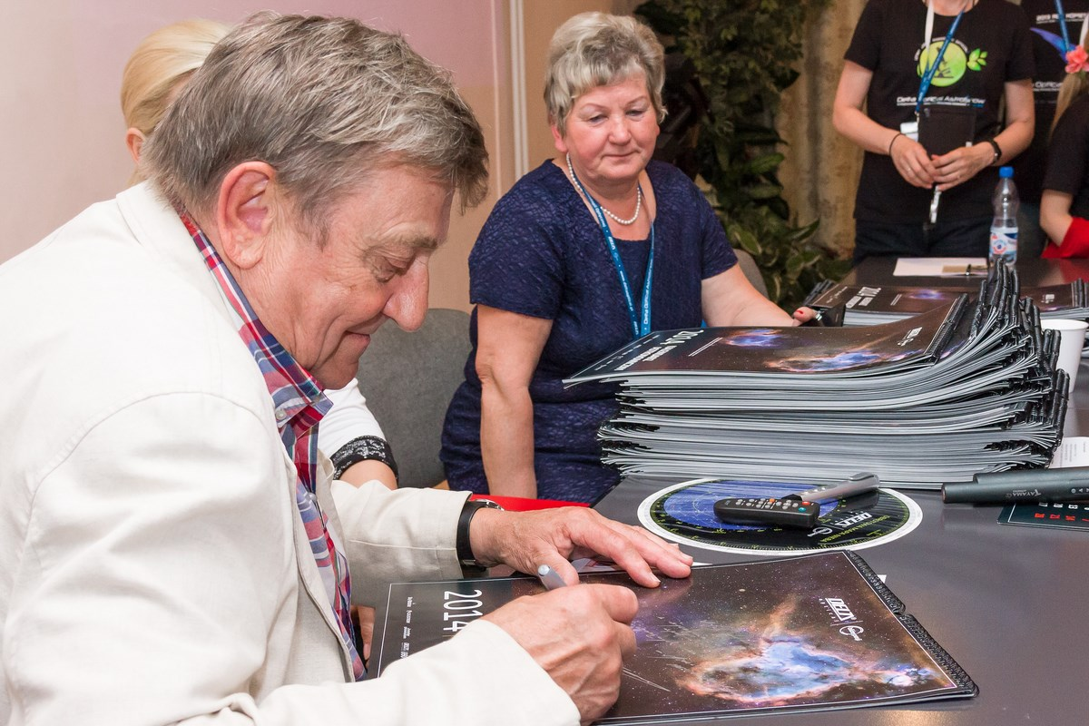 Gość specjalny AstroShow 2017 – generał Mirosław Hermaszewski.