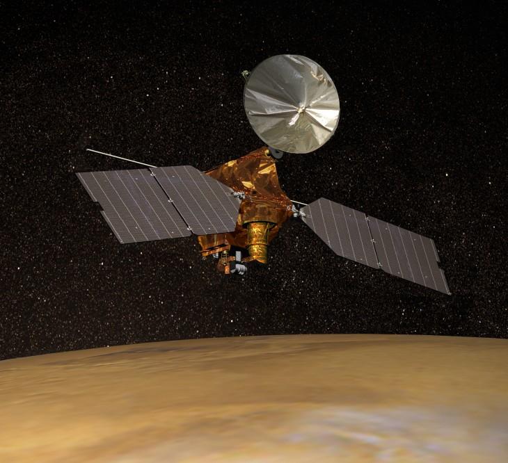Artystyczna wizja sondy MRO