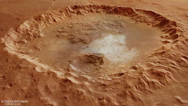 Marsjański krater