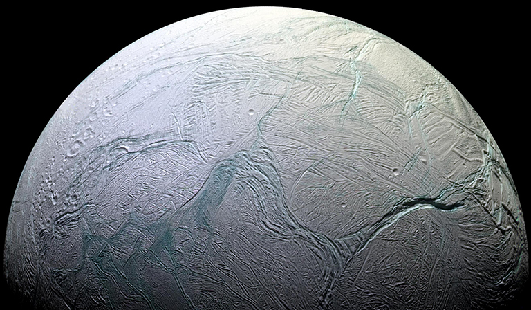 Enceladus - jeden z księżyców Saturna