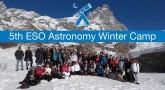 Uczestnicy ESO Astronomy Camp zorganizowanego w 2016 roku przez ESO i Sterrenlab w Astronomical Observatory of the Aosta Valley w Saint Barthélemy.