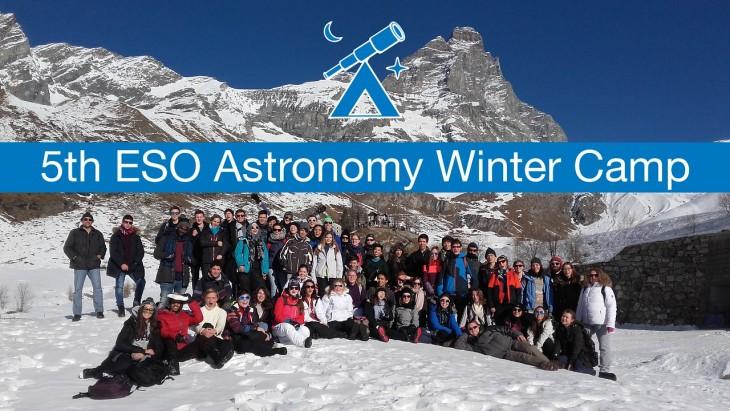 Piąty ESO Astronomy Winter Camp dla uczniów szkół średnich
