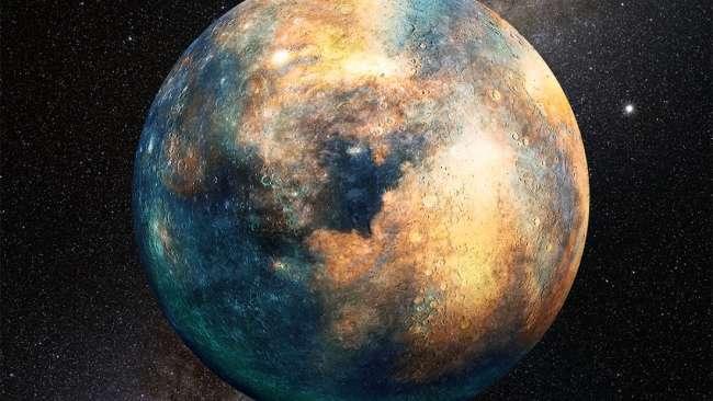 Wizja artystyczna Dziesiątej Planety