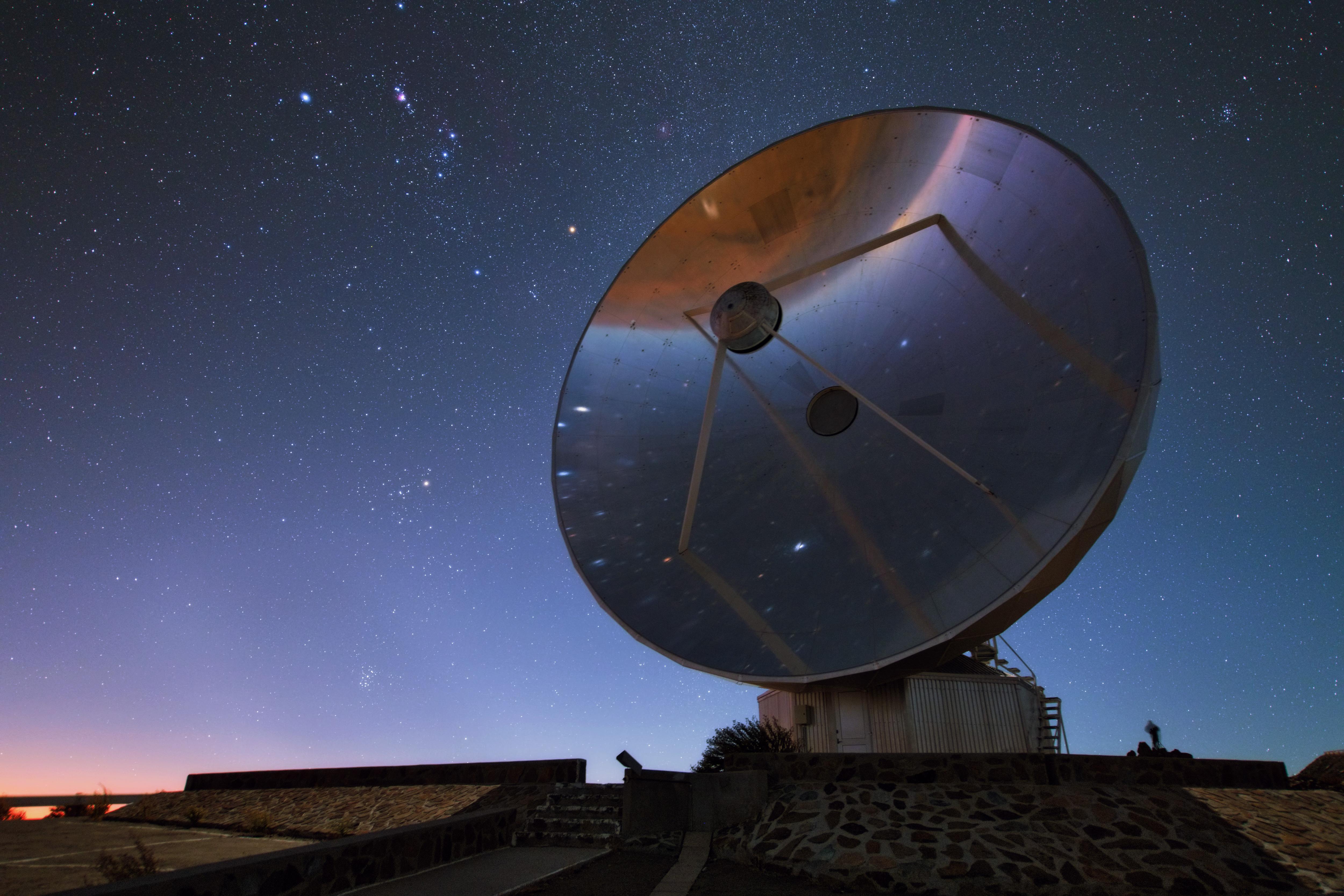Niebo nad Obserwatorium La Silla