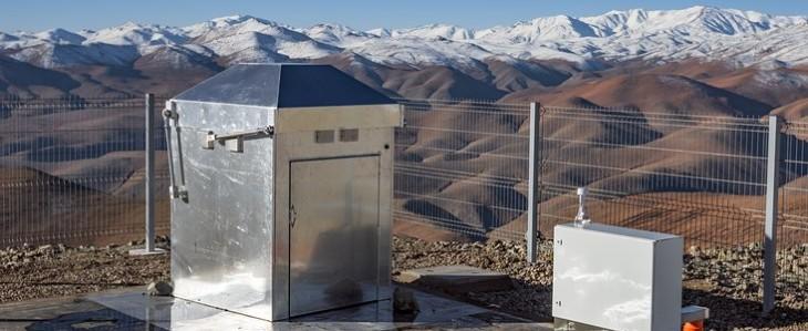 Szeroko otwarte oczy stacji MASCARA w Chile