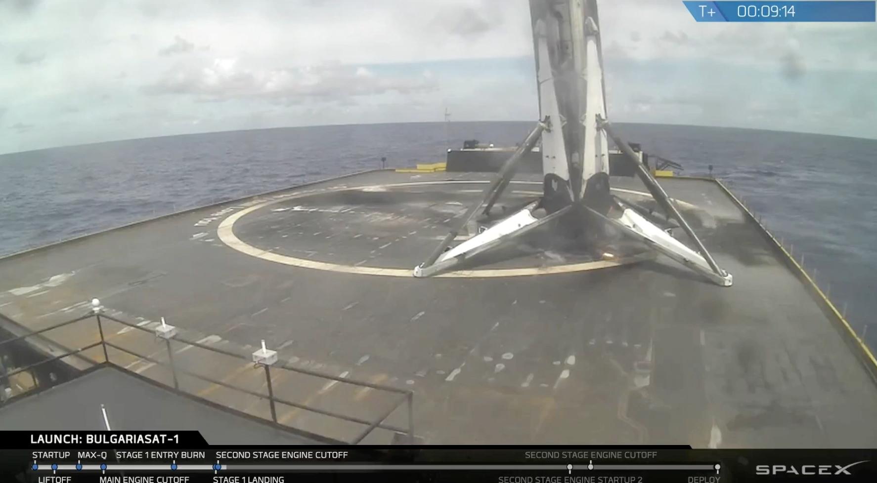 Choć były problemy z transmisją obrazu, a Falcon wylądował odrobinę krzywo, cały lot to kolejna odsłona wyśmienitego spektaklu w wykonaniu SpaceX.