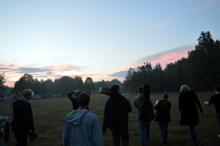 Relacja z obozu astronomicznego dla gimnazjalistów
