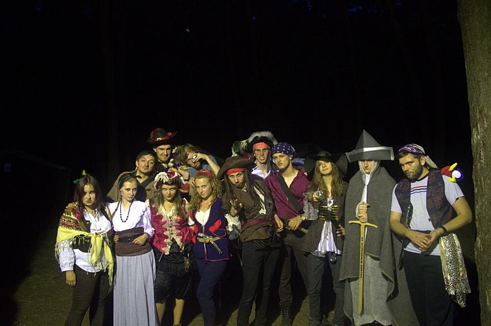 """Nocna gra terenowa """"Piraci z Karaibów: Zemsta Szarokocego"""""""