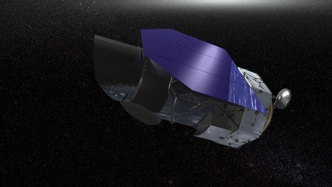 Wizja artystyczna teleskopu WFIRST