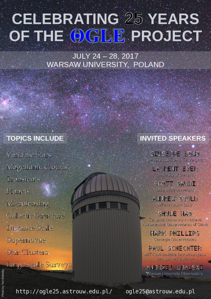 Plakat wydarzenia OGLE25