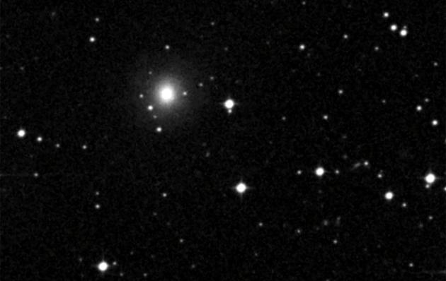 Na zdjęciu widoczna jest galaktyka NGC 4993, w której prawdopodobnie zaobserwowano kolizję dwóch gwiazd neutronowych.