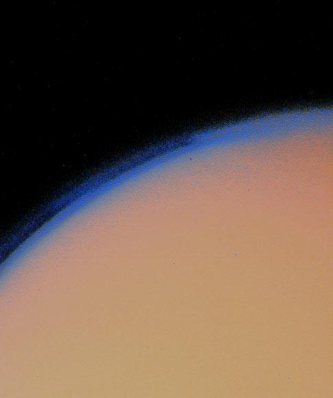Voyager 1: atmosfera Tytana