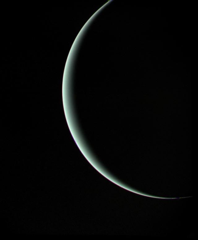 Voyager 2: pożegnanie Urana – 25 stycznia 1986r.