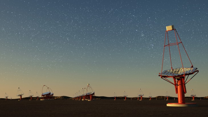 Testy polskiego teleskopu Czerenkowa udane