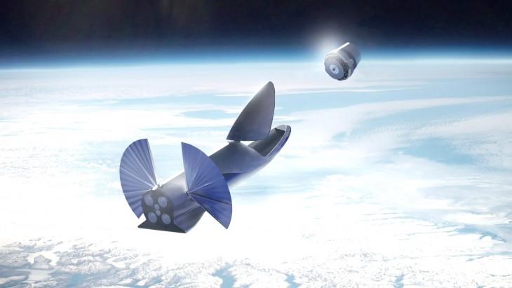 BFR ma mieć wielorakie zastosowania wprzestrzeni okołoziemskiej: odumieszczania wielkich imałych satelitów naorbicie, przezobsługę ISS, anawet sprzątanie kosmicznych śmieci.