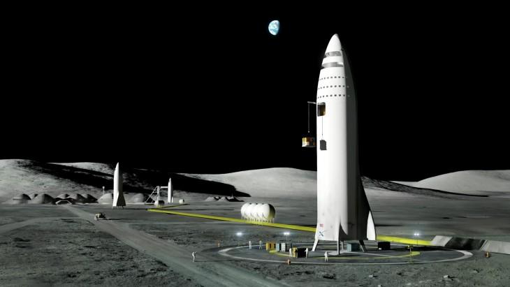 Tak według Elona Muska miałaby wyglądać księżycowa baza. Miliarder był wyraźnie zniesmaczony tym, żejest 2017 rok, aludzkość wciąż niema stacji naKsiężycu.