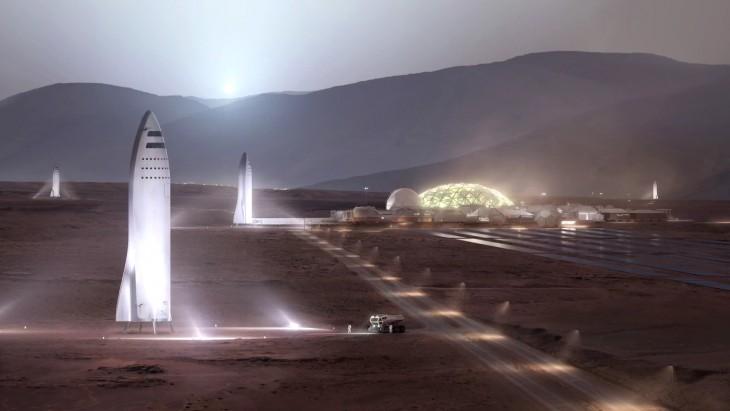 Wraz z wysyłaniem kolejnych statków na Marsa, kolonia ma się rozrastać i uzyskać samowystarczalność.
