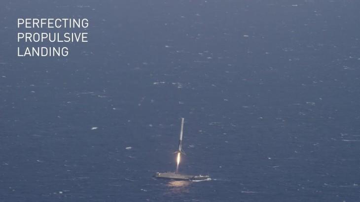Cała procedura lądowania jest wpełni automatyczna – barka naktórejląduje rakieta również jest autonomiczna.