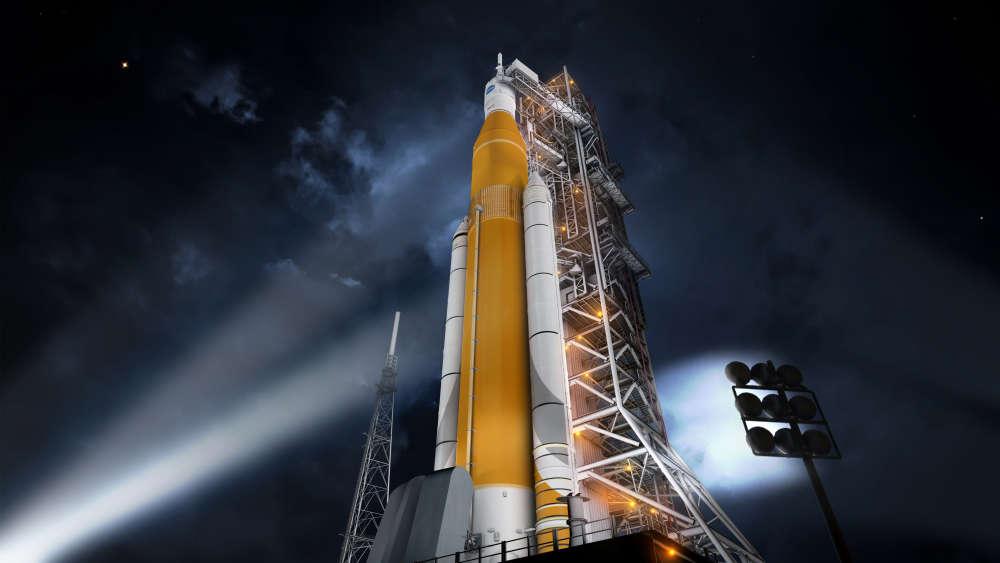 Nowa rakieta NASA – SLS zaprojektowana do dalekich podróży.