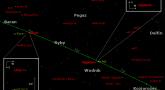 Położenie planet Neptun i Uran w trzecim tygodniu października 2017 r.