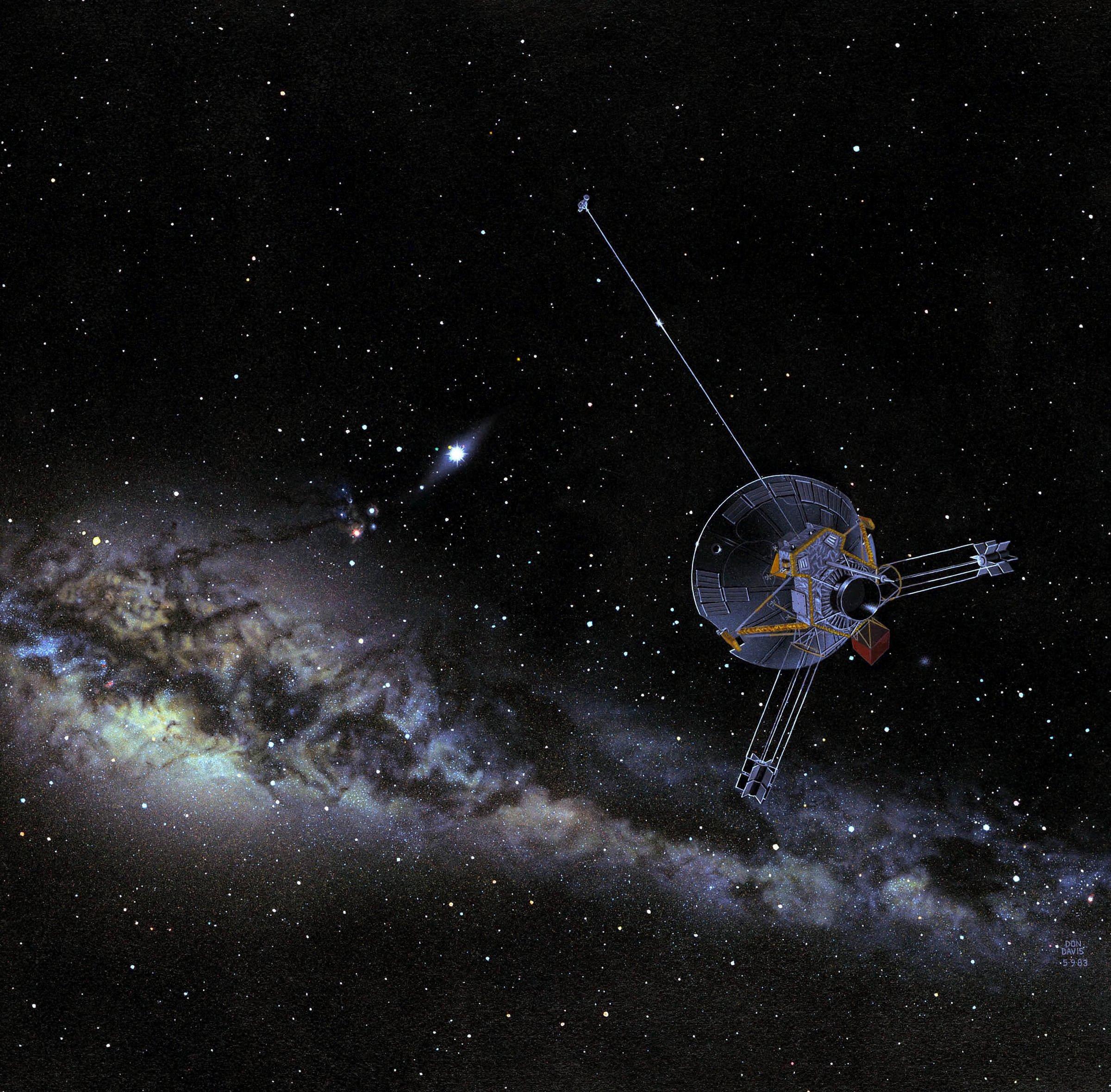 Ostatni sygnał Pioneera 10