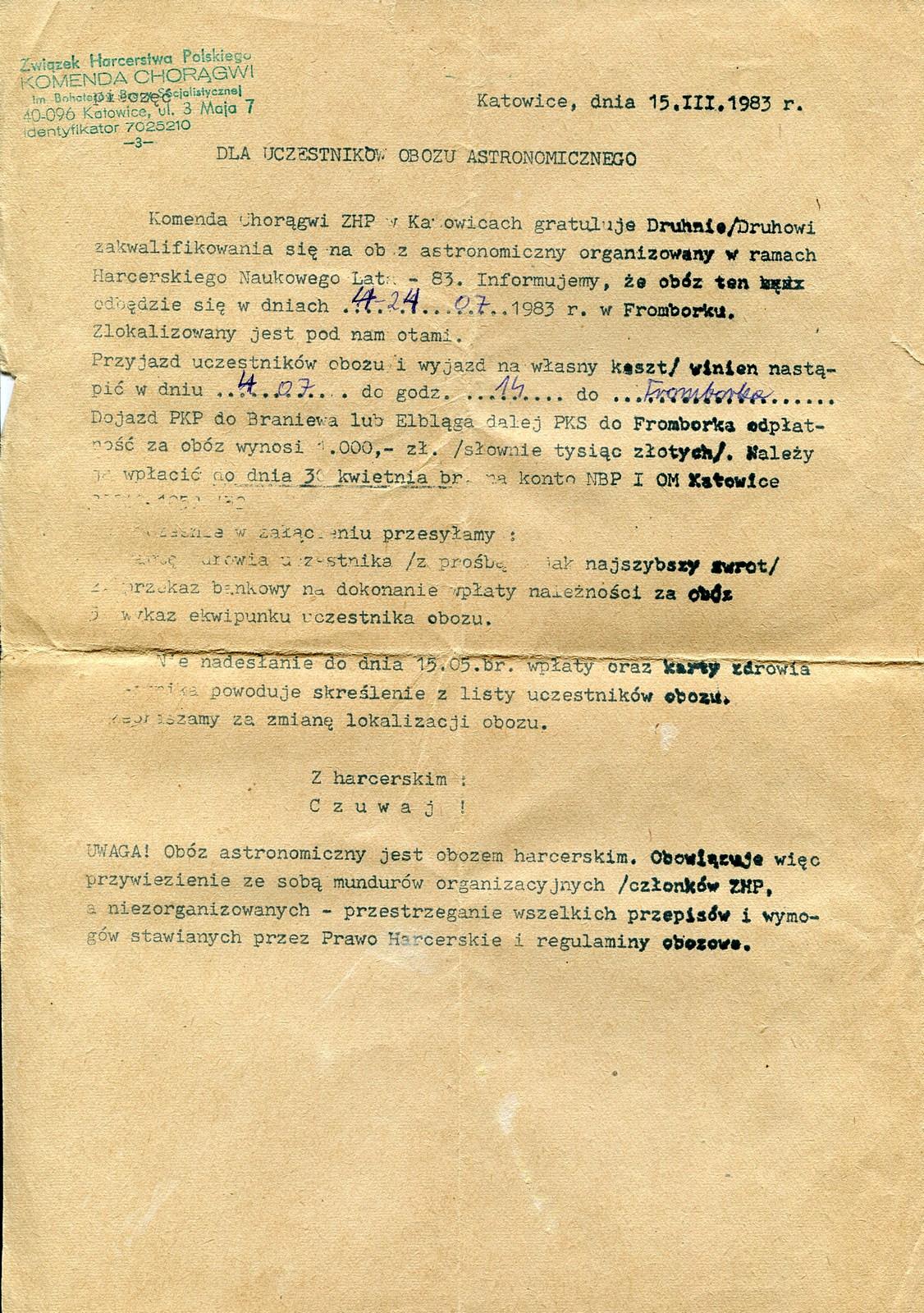 """Jubileusz Klubu Astronomicznego """"Almukantarat"""" @ Załęcze Wielkie 89   Załęcze Wielkie   województwo łódzkie   Polska"""