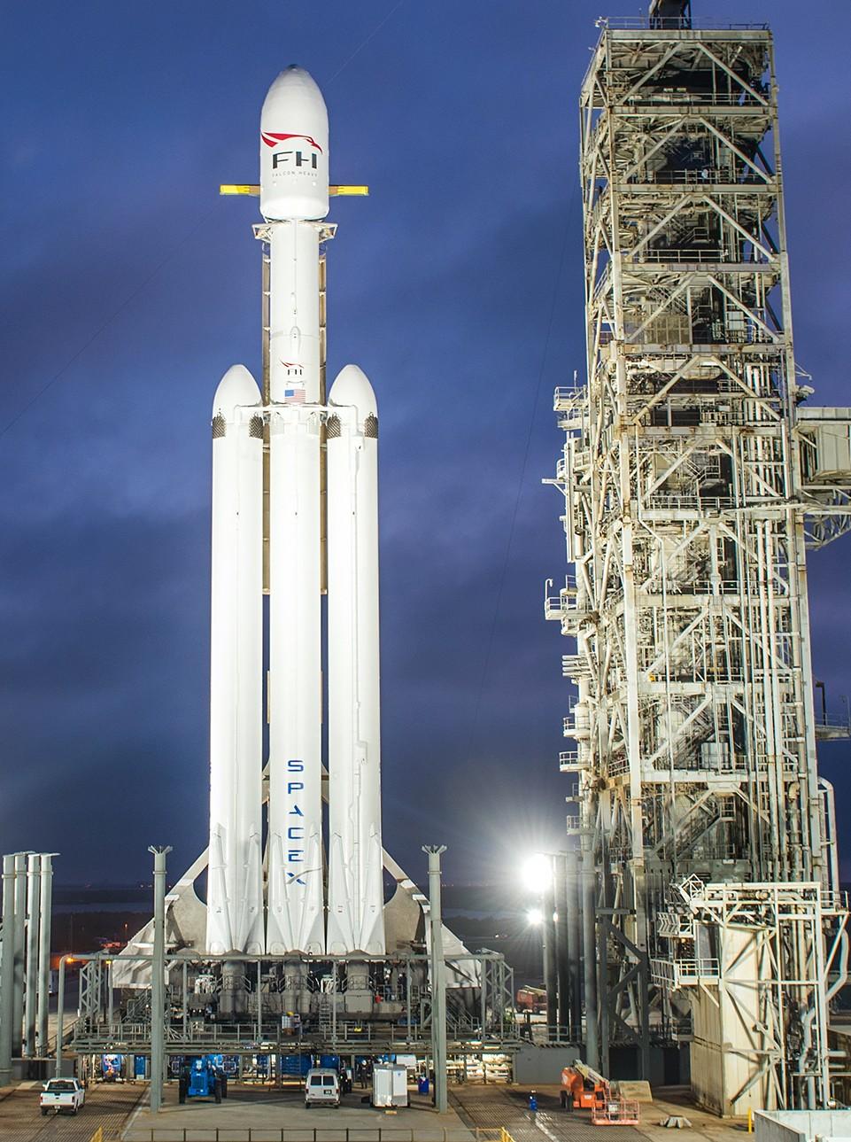 Falcon Heavy: Demo