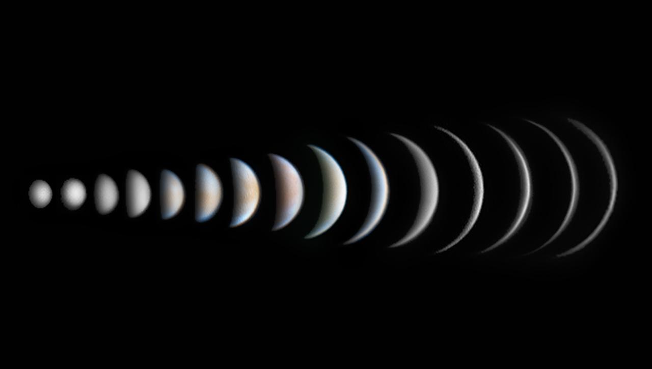 """Ewolucja Fazy Wenus – """"Planety, komety iplanetoidy"""""""