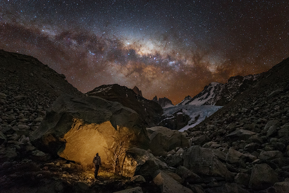 """Wędrowiec w Patagonii – """"Ludzie i kosmos"""""""