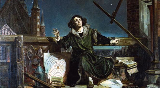 545. rocznica urodzin Mikołaja Kopernika