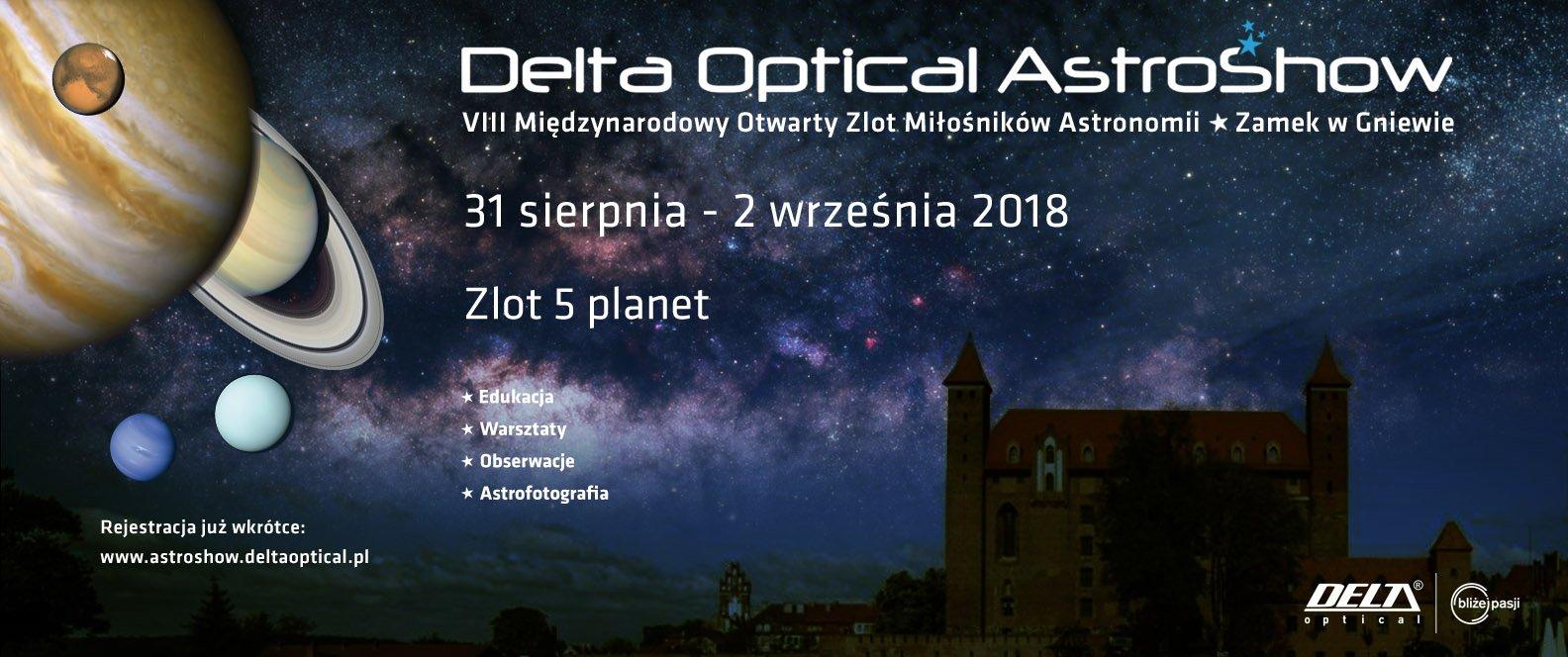 Delta Optical AstroShow @ Gniew | pomorskie | Polska